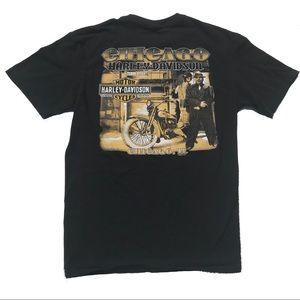 Harley-Davidson Chicago gangster biker shirt